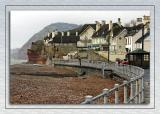 Beach front homes, Sidmouth (1718)