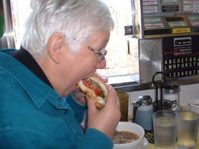 Diner Burger Muncher