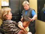 First Hair Cut, August 3, 2002