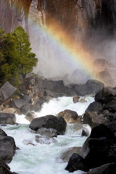 Rainbow, Lower Yosemite Falls