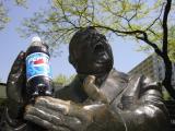 Fiorello LaGuardia's Statue (w/ Pepsi)