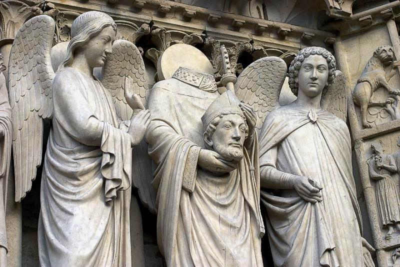 Saint Denis on Notre Dame