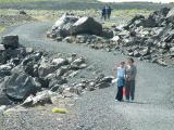 Hiking to edge of Skaftafellsjökull in Skaftafell National Park