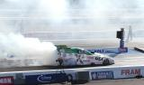John Force smokes up the place