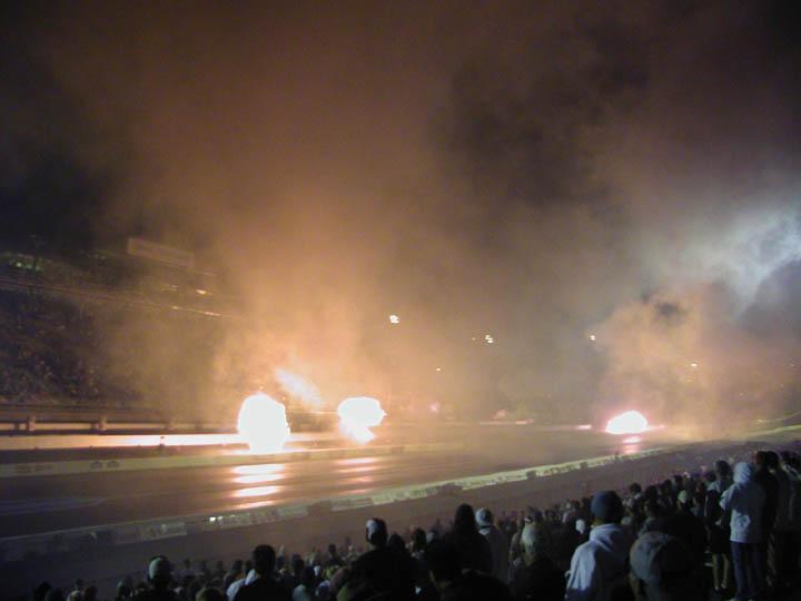 Smoky finale