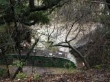 Trailer flooded by Antonio Creek