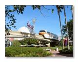 Monorail & Spaceship EarthEpcot