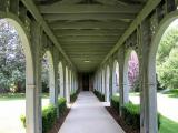 Going to the chapel-the Cloister Walk