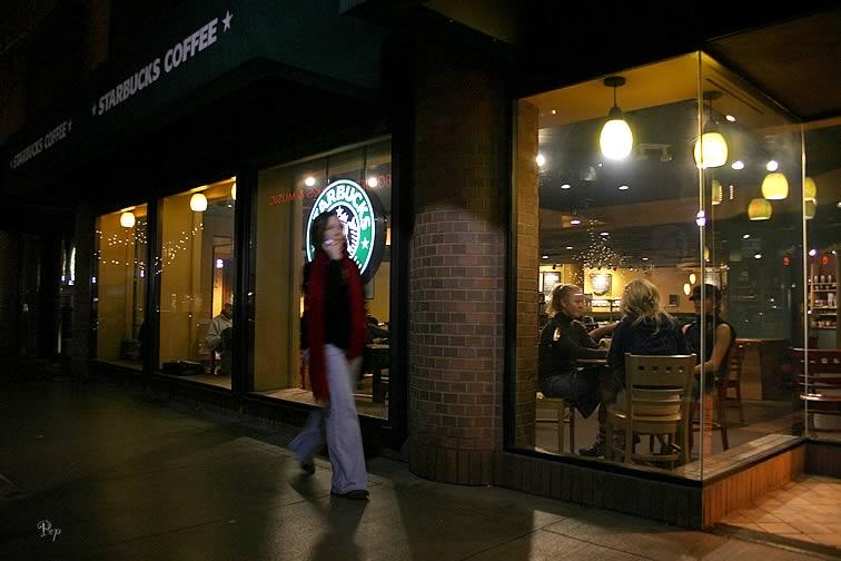 Jan. 7, 2005 - Ann Arbor at night