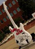 a funky air-guitar - tom batiuk - east 36th & euclid  #87