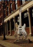 Guitar Mania On The Streets Of Downtown Cleveland