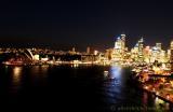 Sydney at night 5:58 PM - 25th July 2002