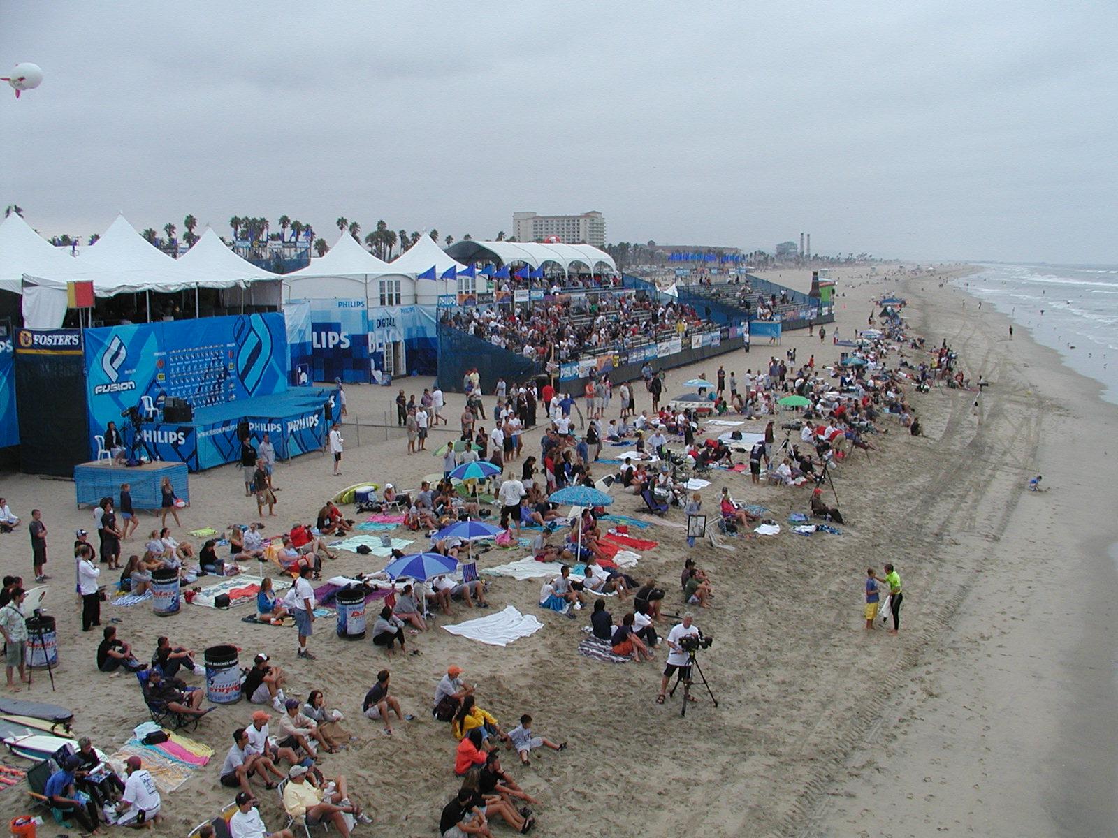 U.S. Open of Surfing in Huntington Beach, Calif. | Las
