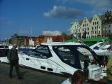 A Nice Yacht - With a relaxed Fellow on the Quayside