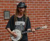 Street Musician / Brick Wall Lens Test