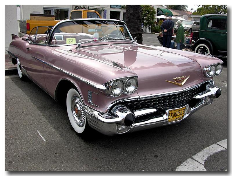 1958 Cadillac Eldorado Biarritz - Click on photo for more info