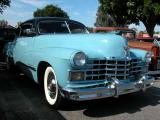 1947 Cadillac - Fuddruckers Sat. Night meet, Lakewood, CA