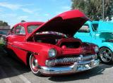 1951 Merc - Fuddruckers Sat. Night meet, Lakewood, CA
