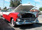 1955 Ford Victoria - Fuddruckers Sat. Night meet, Lakewood, CA