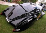 Custom Lincoln Zephyr - Rear View - Signal Hill, CA Car Show