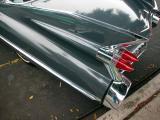 1959 Cad Fins - El Segundo CA Main Street Car Show