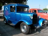 1930 Ford Sedan Delivery  - Fuddruckers Lakewood, CA Saturday night meet