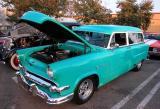 1954 Ford Ranch Wagon - Fuddruckers Lakewood, CA Saturday night meet