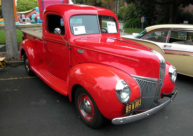 1941 Ford Pickup - El Segundo Main Street Car Show