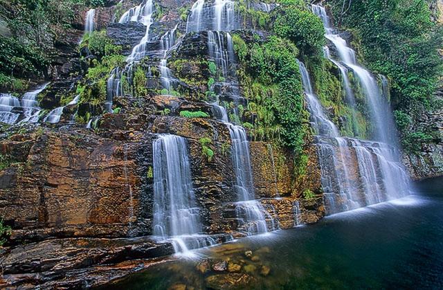 Cachoeira das almécegas, Chapada dos Veadeiros