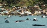 Ferrys on Lago Titicaca