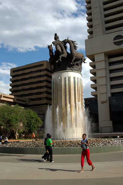 Strijdom Square, Pretoria