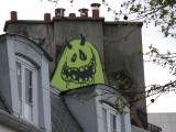 Goofy ghost graffiti