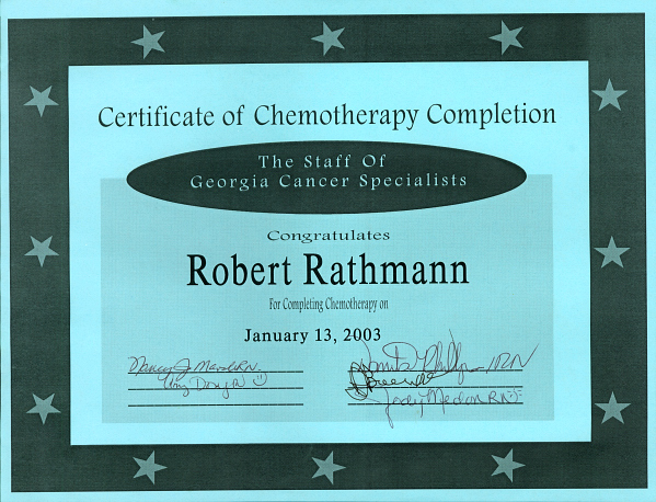 My GED Certificate...