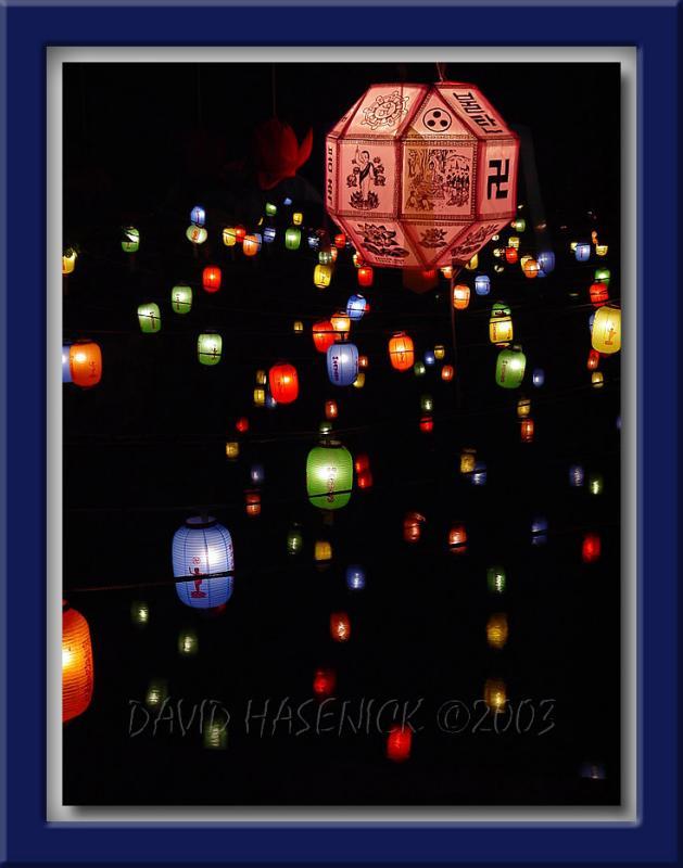 Buddhas Birthday Lanterns
