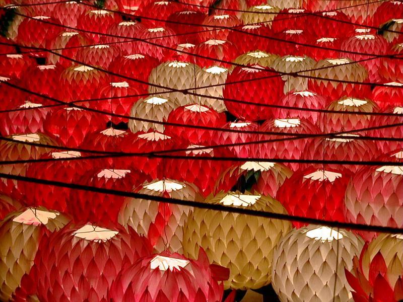 Lanterns for Buddhas 2545th Birthday