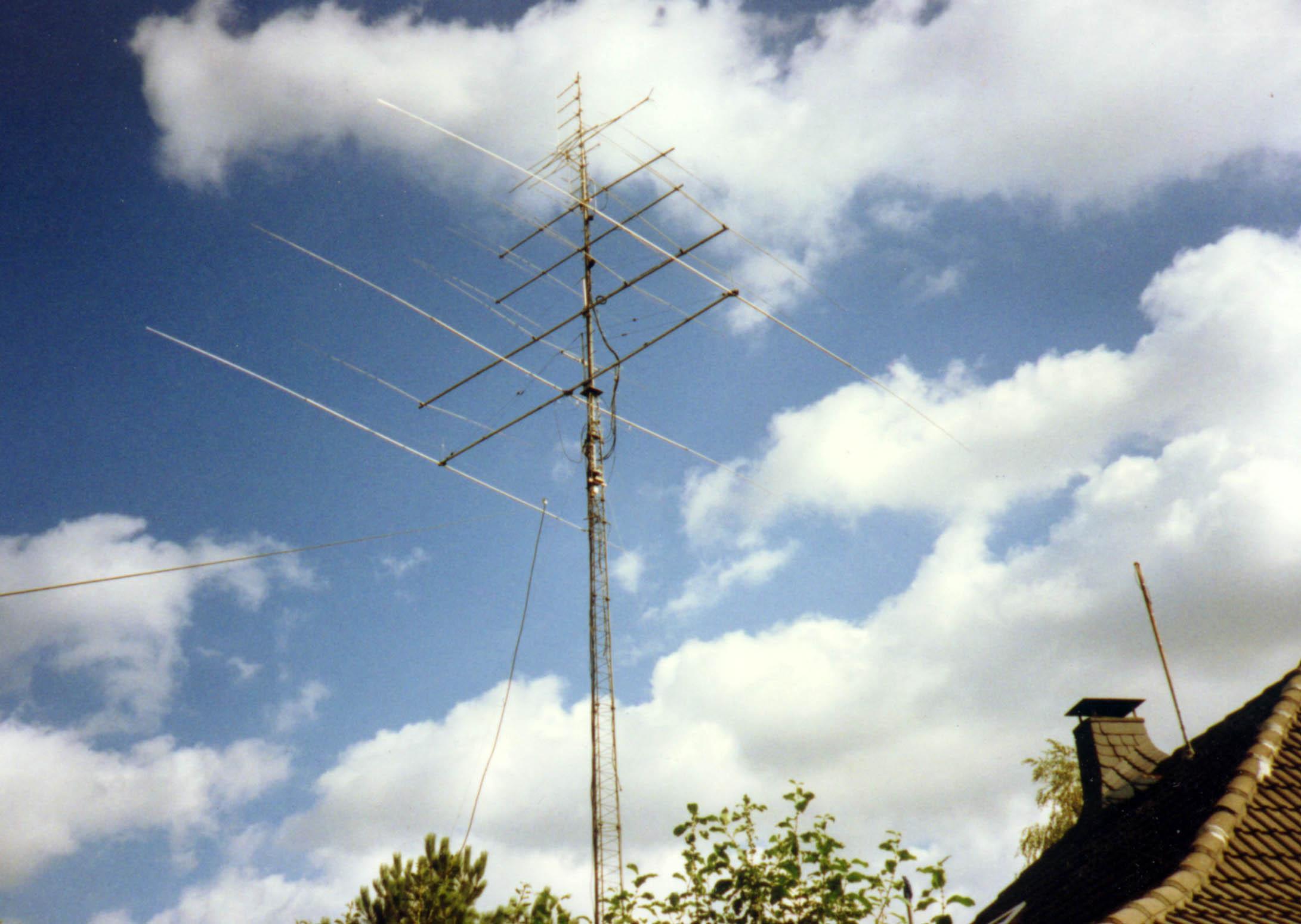 Antennen  in Kerpen 1982 bis 1991