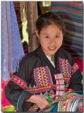Karen tribe girl