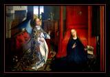 L' Annonciation   (1435) par Rogier VAN DER WEYDEN
