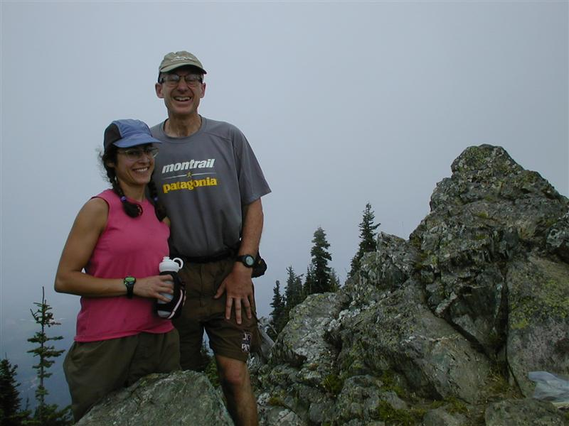 Pacer Kat & Ron Nicholl-- Thorp Mt. (RN)