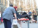 Christine Werner in Aktion in Die Engelmacherin