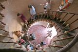 015 Group going down spiral staircase_9976Ps`0503031442.jpg