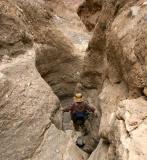 050 Dee going down steep narrow spot_0634Nfp`0503051414.JPG