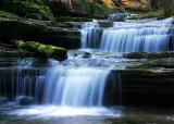 Waterfalls of Leatherwood Creek