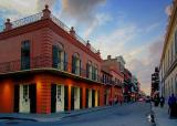 French Quarter at Dusk 3883