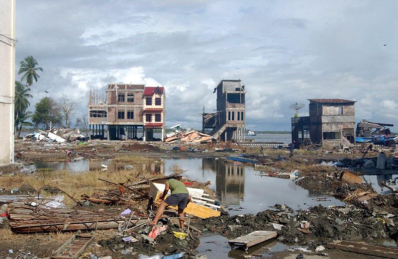 Asian Tsunami-Picking through the Ruins