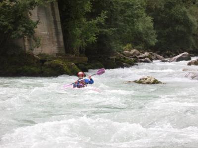 Flavio nella rapida finale di ponte Stori