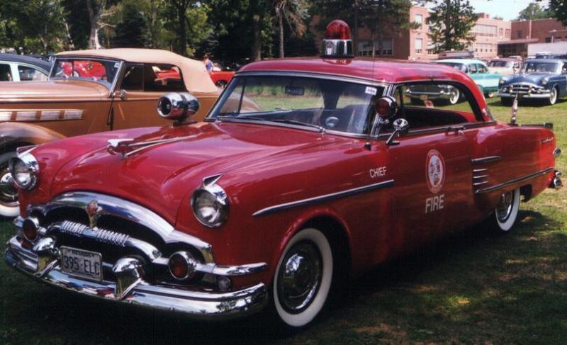 Packard FireChiefs vehicle