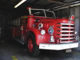 Avalon's classic fire engine, a Van Pelt
