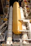 STS-114 hours before roll out