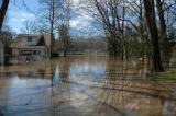 Trenton Rt. 29 (Island, Glen Afton) - Delaware River Flood